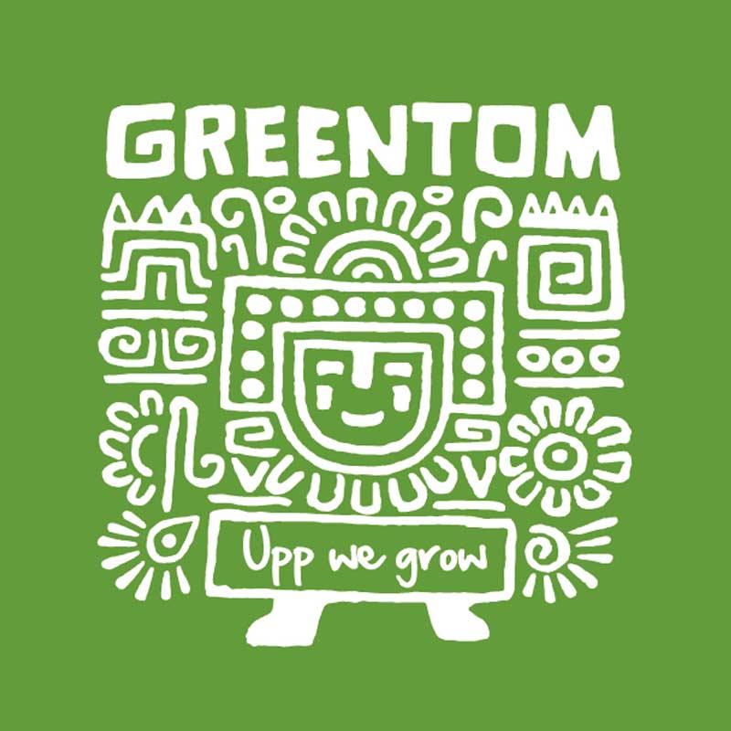 Logo des Labels Greentom