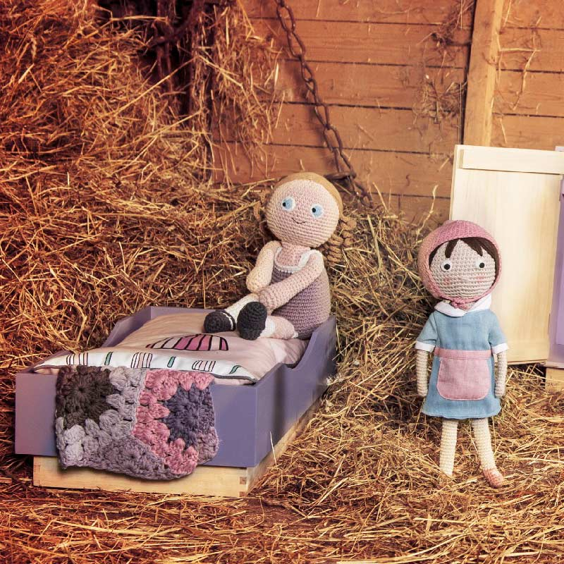 Puppenkollektion von Sebra