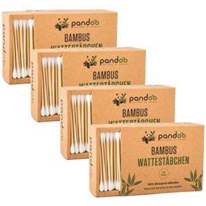 Bambus Wattestäbchen von pandoo