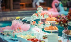 Kindergeburstag, Kuchen, Party